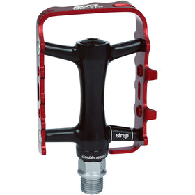 NC-17 Trekking Pro Pedal Alu schwarz/rot